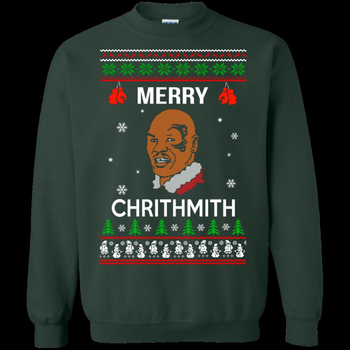 Mike Tyson Merry Chrithmith Christmas Sweater, Long Sleeve Shirt