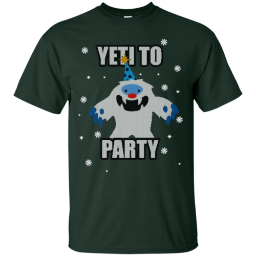 Yeti To Party Christmas Sweater