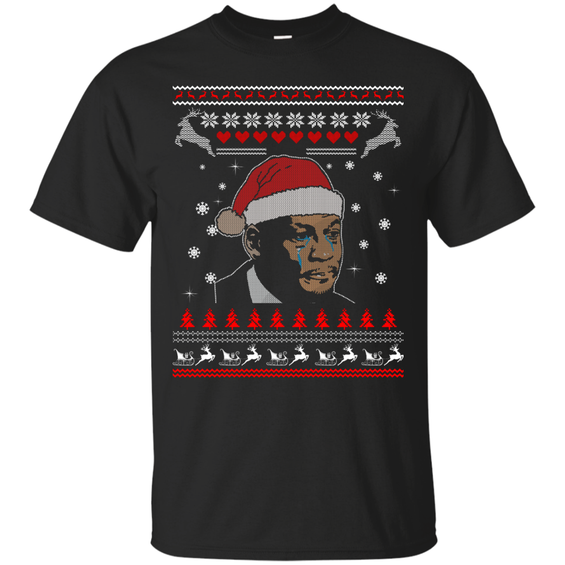 Crying Jordan T Shirt, Hoodies, Tank Top Christmas Gift