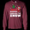 Dabbin Through The Snow Christmas Sweater
