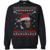 Crying Jordan Christmas Sweater, Long Sleeve
