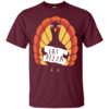 Eat Pizza - Thanksgiving Funny Turkey Pizza T Shirt