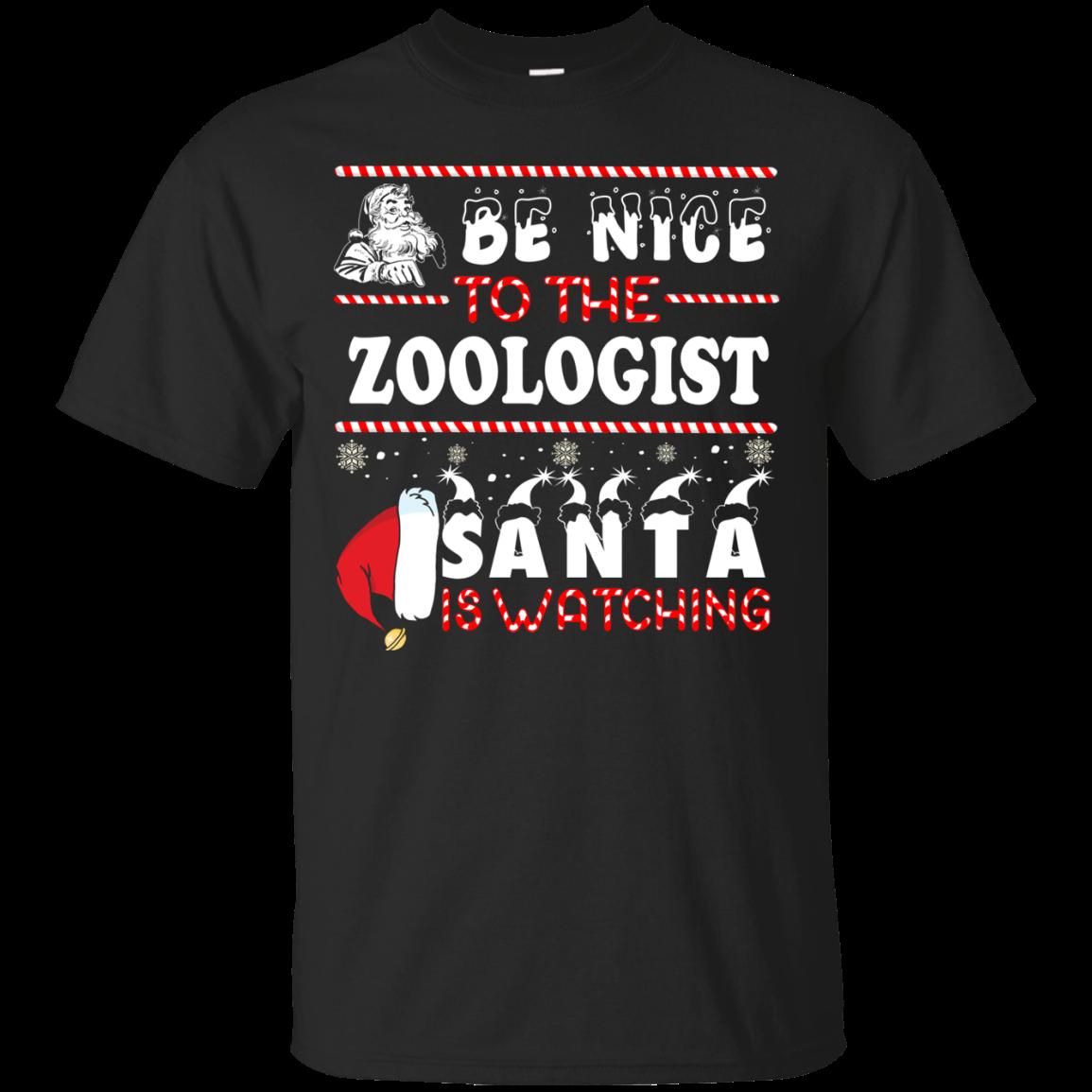 Be Nice To The Surgeon Santa Is Watching Sweatshirt, T Shirt