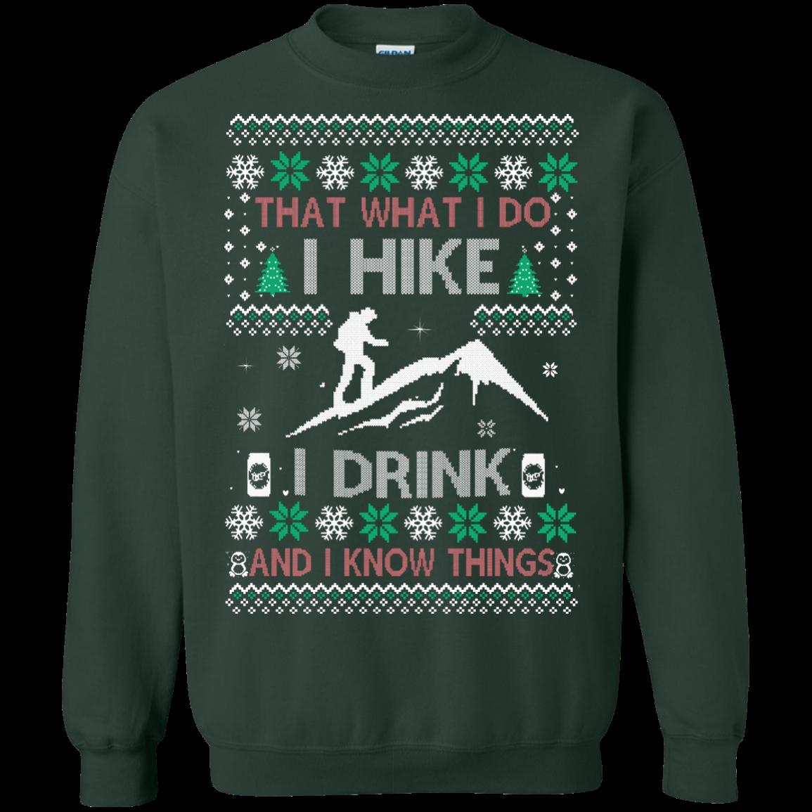 Printed Crewneck Pullover Sweatshirt 8 oz