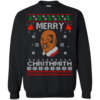 Merry Chrithmith Mike Tyson Ugly Christmas Sweater, T-shirt