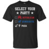 Vote Pizza Party in 2016 T-Shirt