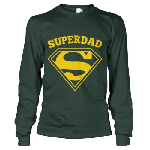 Superdad T Shirt | Super Hero Gift for Dad