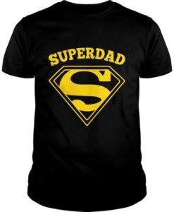 Superdad T-Shirt | Super Hero Gift for Dad