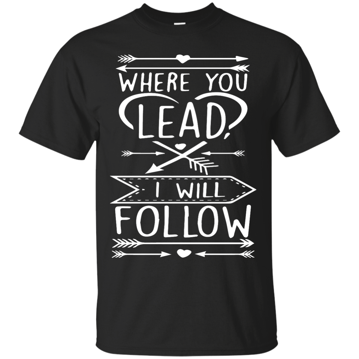 Gilmore Girls: Where You Lead I Will Follow Shirt