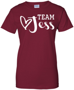 Team Jess Shirt, Gilmore Girls Movie T-Shirt