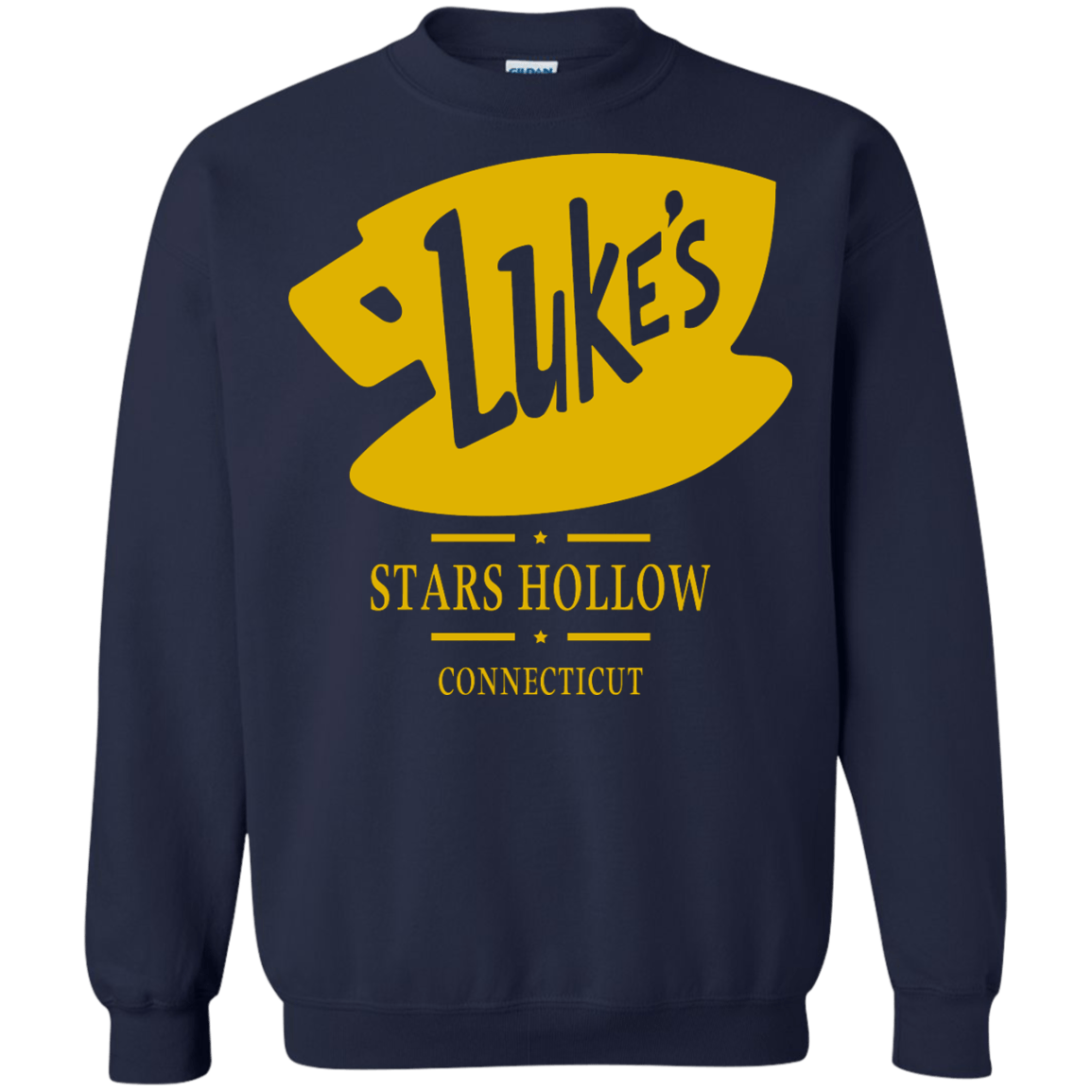 02748ab6 Gilmore Girls Luke's Diner Shirt - Stars Hollow Connecticut