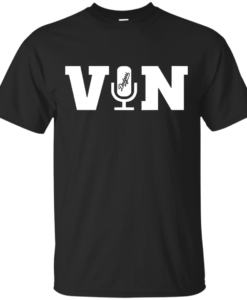 Vin Scully Microphone T Shirt, Hoodies, Tank Top