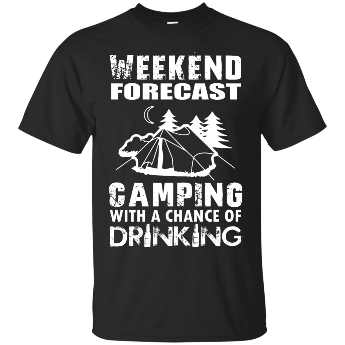 e26fdba0c Weekend Forecast, Camping With A Chance Of Drinking t-shirt, hoodies
