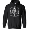 Motocross t shirt: That's What I Do I Ride I Drink