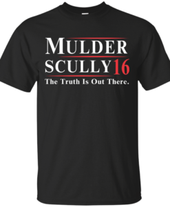 Mulder Scully for president 2016 t shirt & hoodies