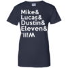 Stranger a Things t shirt Mike & Lucas & Dustin