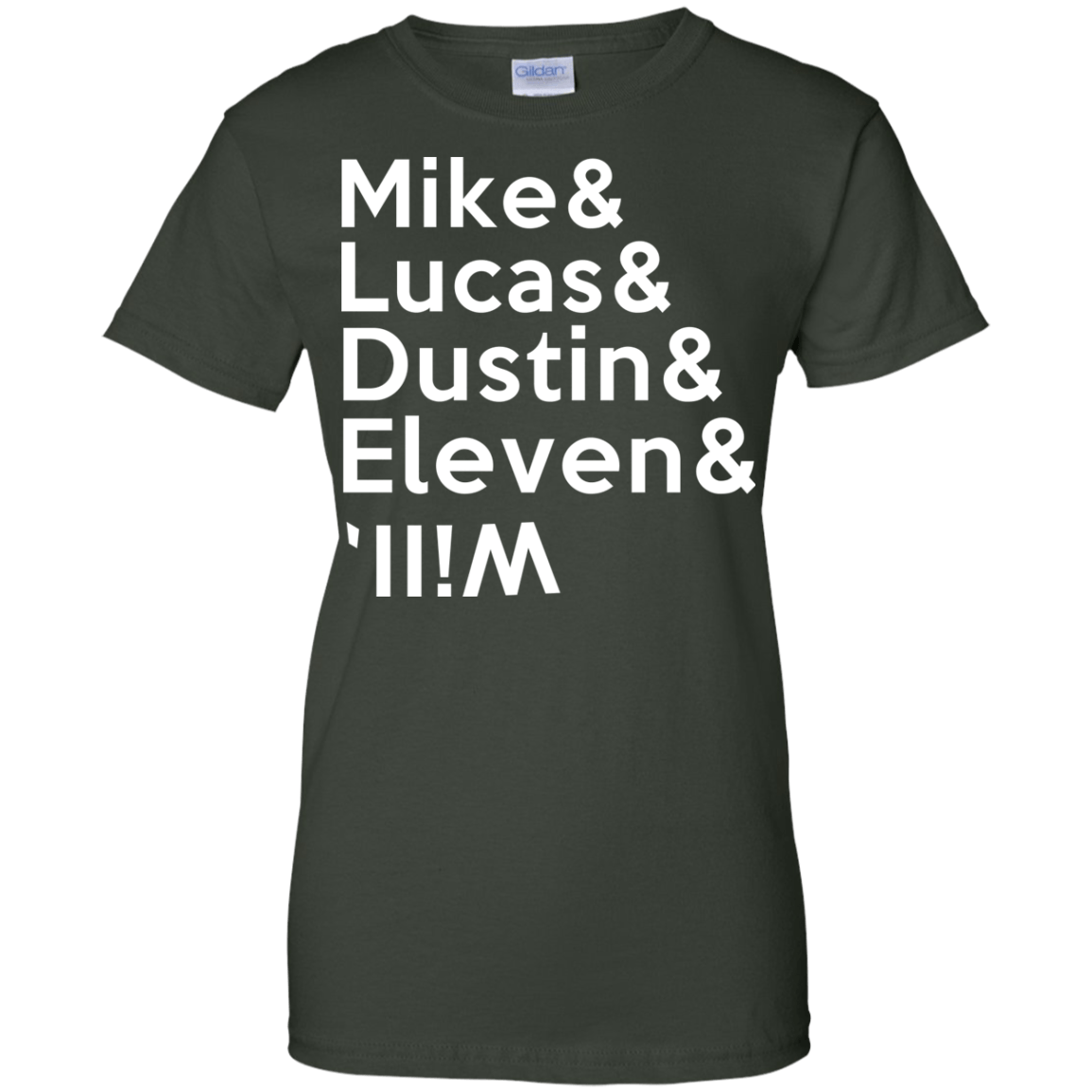 Stranger a Things t shirt Mike & Lucas & Dustin