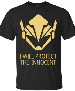 Pharah Overwatch T Shirt Offensive Hero I Will Protect The Innocent