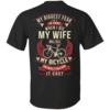 Cycling t shirt: My biggest fear is that when I die