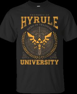Property of Hyrule University - Hero in Training Shirt