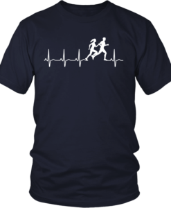 Love running heart beat t-shirt, hoodies, tank top