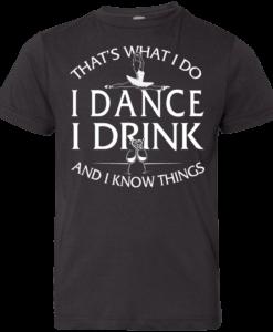 Ballet tshirt for kids: That's what I do, I dance
