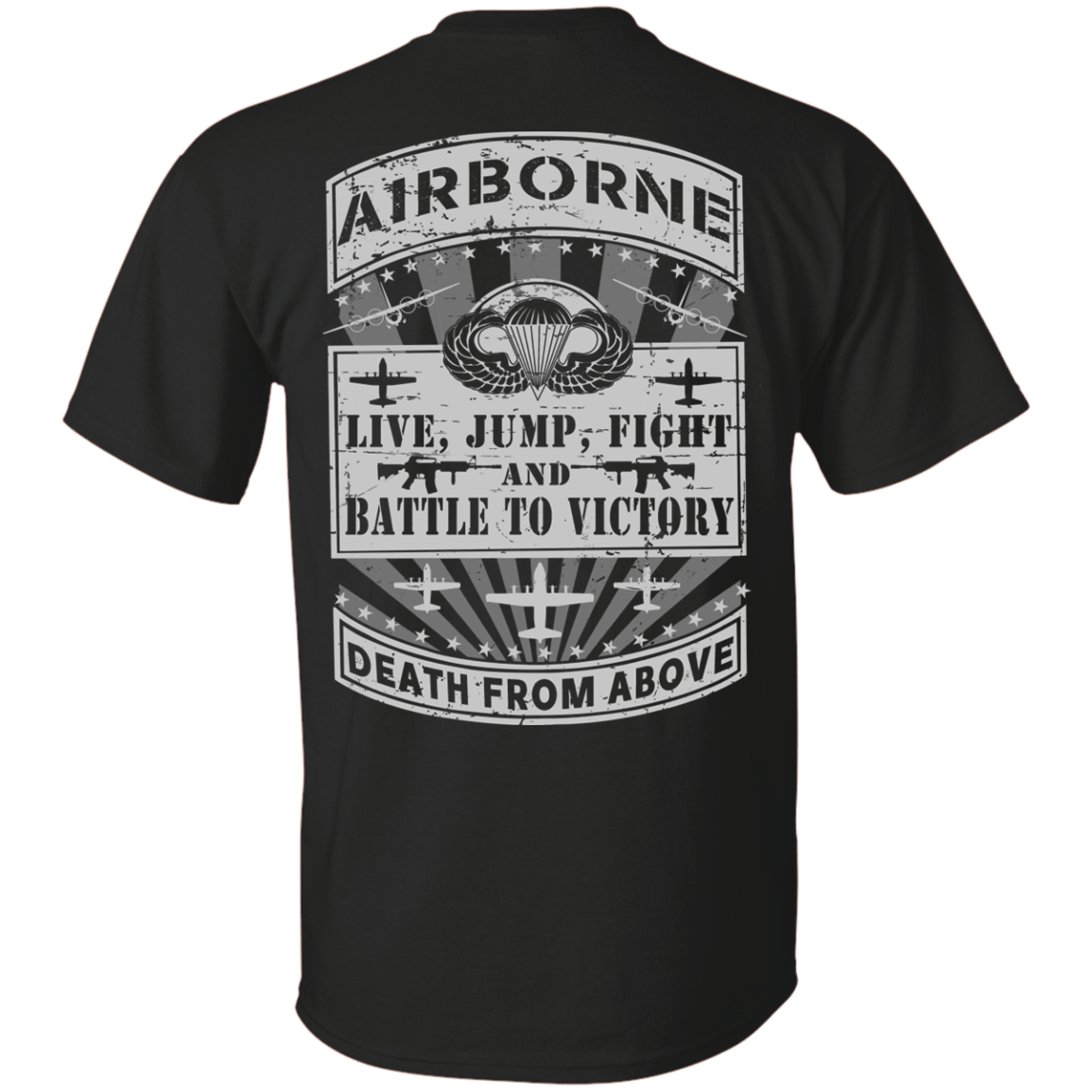 Airborne t shirt: Death from above