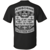 Airborne t-shirt: Death from above