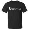 Airborne t shirt: Love, available as t-shirt, tank-top, hoodies