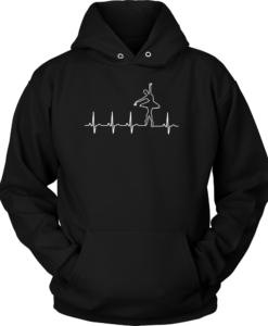 Ballet heart beat t-shirt & Hoodies & Tank Top
