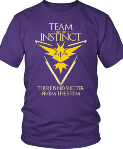 Team Instinct Motto Pokemon Go mashup Game of Thrones