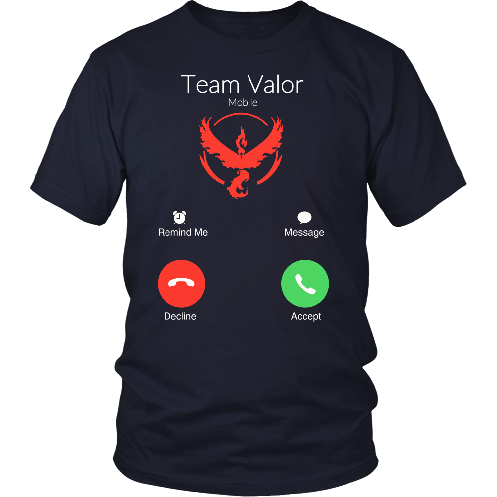 Team Valor is calling and i must go t shirt & hoodies