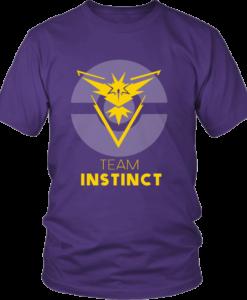 Team Instinct Pokemon Go Official License