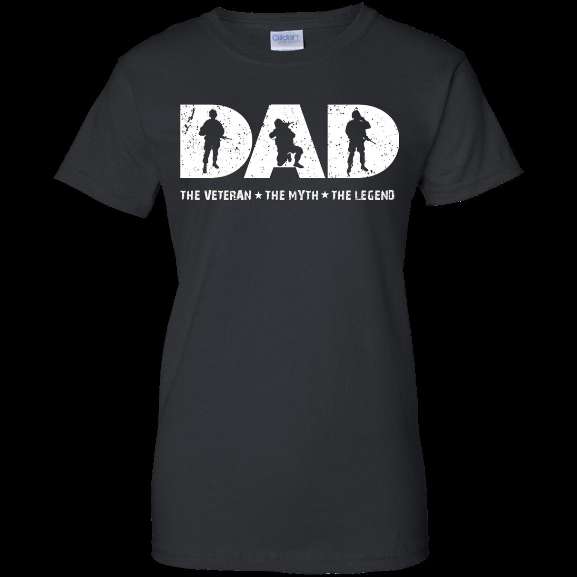Dad,the veteran,the legend, T shirt, Tank top
