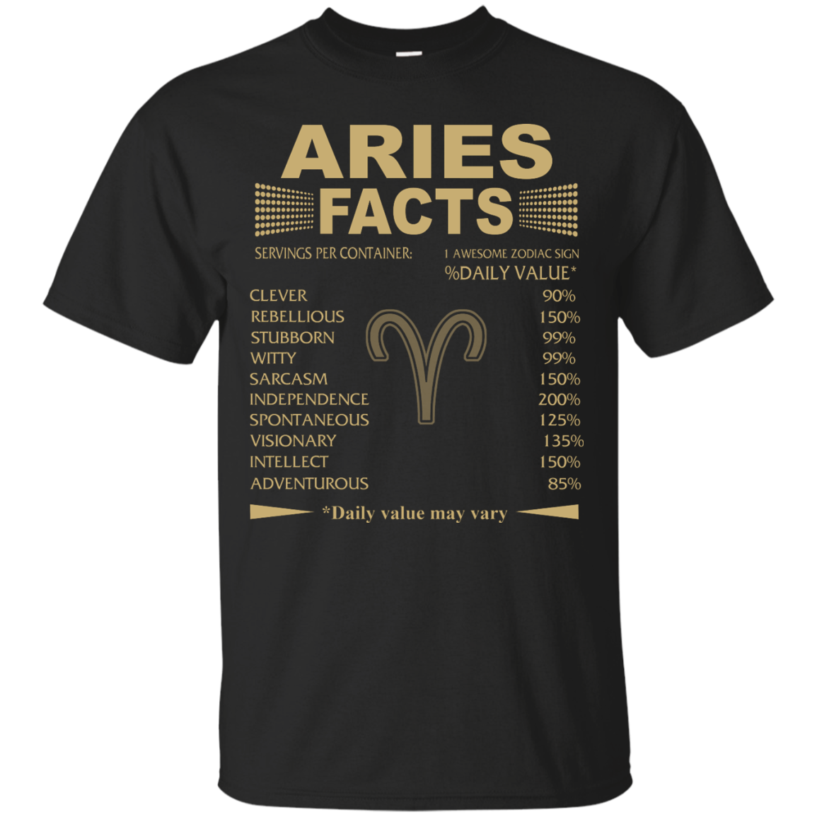 Aries Facts T shirt, Interesting Facts About Aries Zodiac