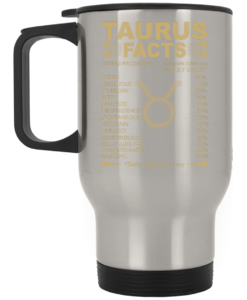 Best Taurus facts mug, Taurus Mug