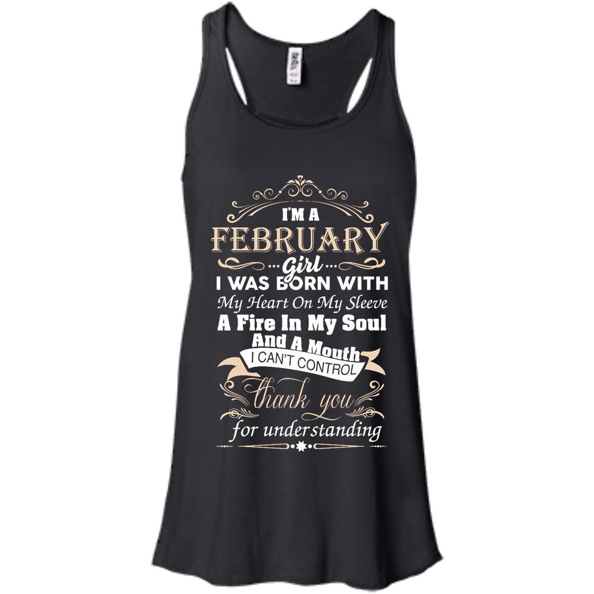 I am a February girl birth day T shirt gift