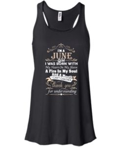 I am a June girl birth day T-shirt gift