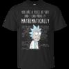 Rick T-shirt, Mathematically T-shirt, I can prove it mathematically T-shirt,Tank top & Hoodies